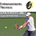 La automaticacion en la técnica del tenis