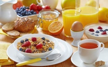 Desayuno de Tenista