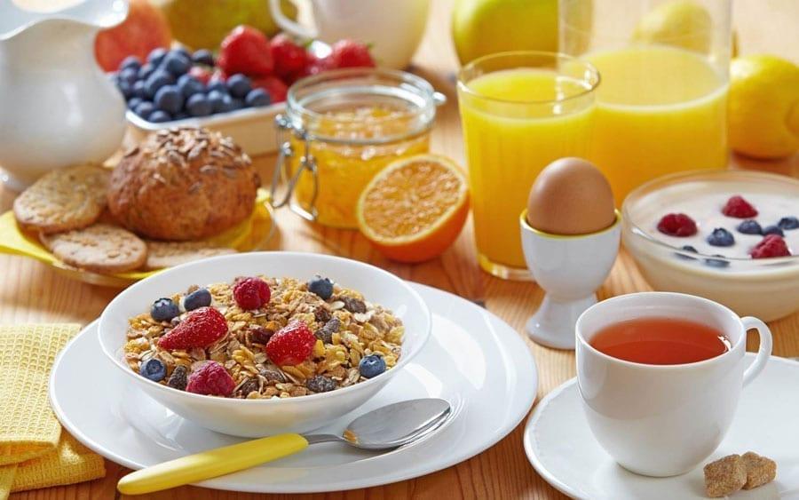 La importancia del desayuno para los tenistas