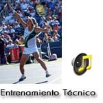 Entrenamiento Técnico en el Remate de Tenis o Smash
