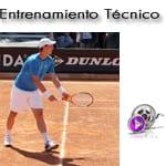 El saque de tenis: La posición de preparado. Técnica del Saque de Tenis