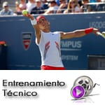 Análisis del ritmo del saque de tenis y del lanzamiento de la bola en el saque de tenis