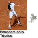 La táctica en el resto del saque de tenis