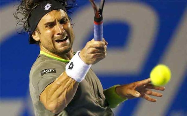El trabajo duro en el entrenamiento de tenis