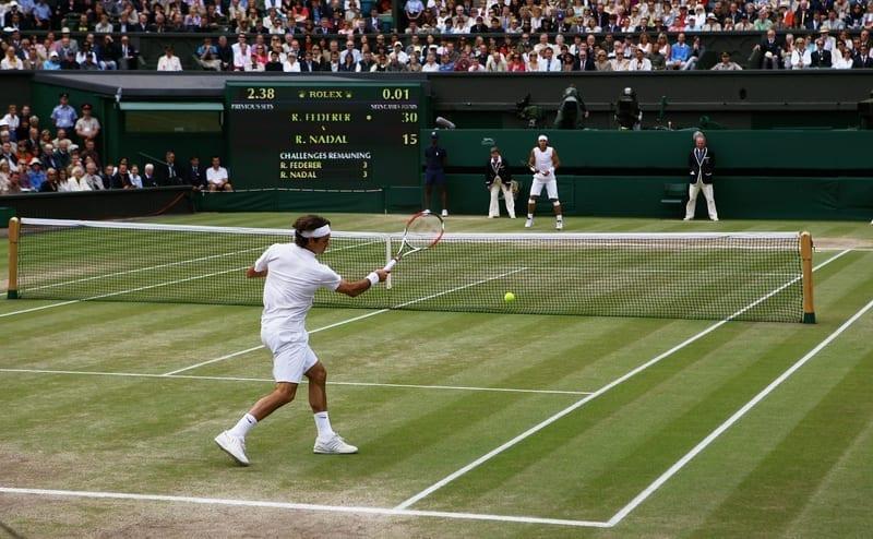 ¿Qué es construir el punto en el tenis?
