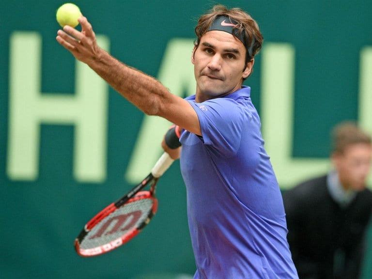 """Roger Federer: """"Si mantienes tu saque, puedes hacer cualquier cosa en el resto"""""""