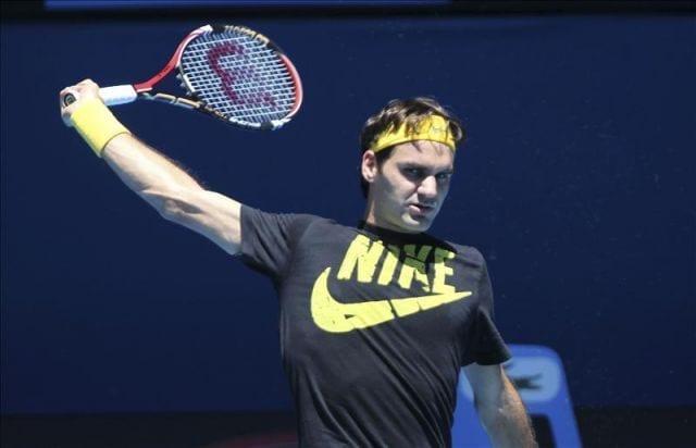 El entrenamiento de tenis de Roger Federer cuando tenía 20 años