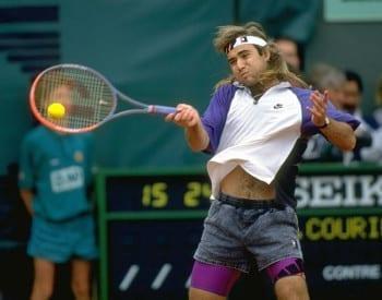 Andre Agassi Devolucion del Saque de Tenis