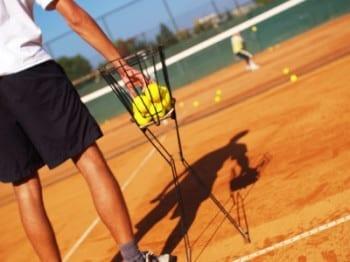 Olvidando el entrenamiento de tenis mas importante...