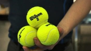 pelotas de tenis oficiales para partidos y torneos de tenis